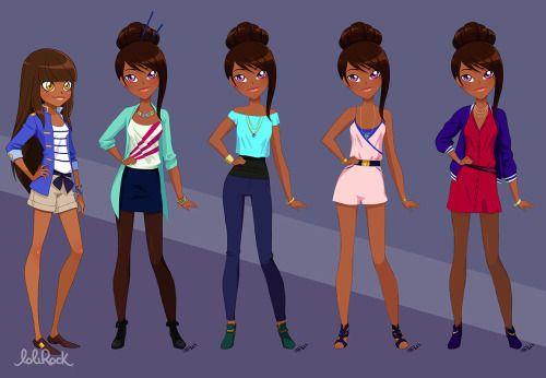 Izira's outfits