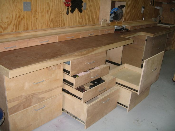 Norms Miter Bench And Storage By SIKE @ LumberJocks.com