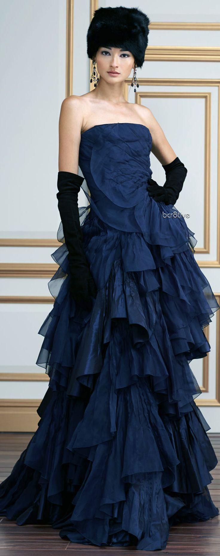 Ralph Lauren Silk Taffeta Colleen Gown from FW 2013-14