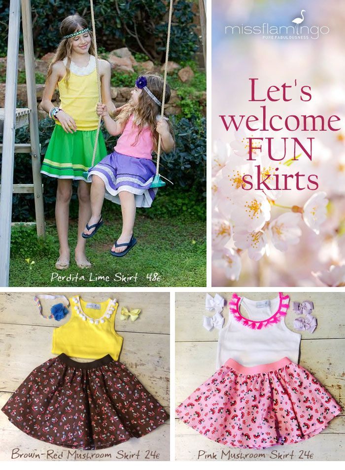 it's all about the fun spring skirts!!! Find them www.missflamingo.gr  Free Delivery in Greece