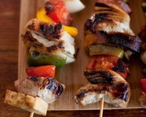 Roast Pork Skewers with BreadPork Skewers, Bites Blog, Roasted Pork, Favorite Recipe, Daily Bites