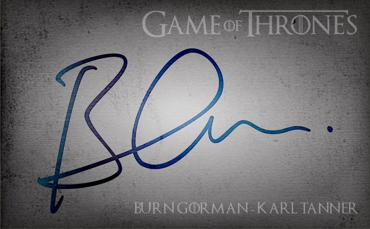 Game of Thrones - Burn Gorman - Karl Tanner