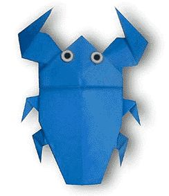 Origami Giant Water Bug