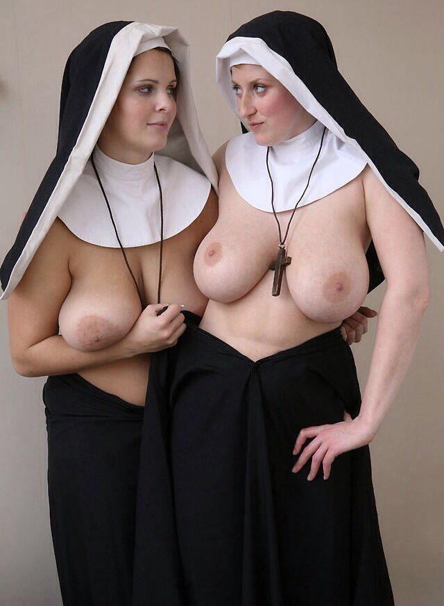 Sexy big boob nuns — pic 7