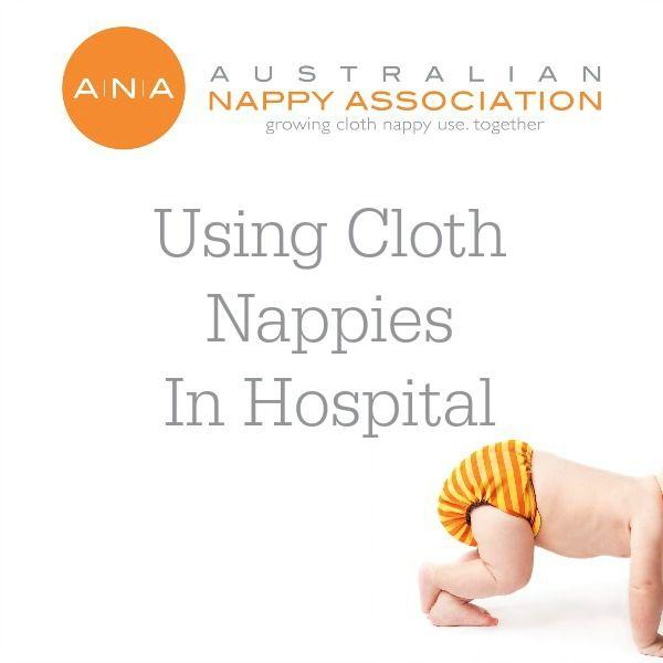 Using #clothnappies in hospital