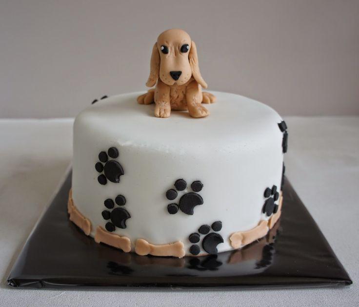 Dog Birthday Cake Decorating Ideas : 16 best cocker spaniel cake ideas images on Pinterest ...