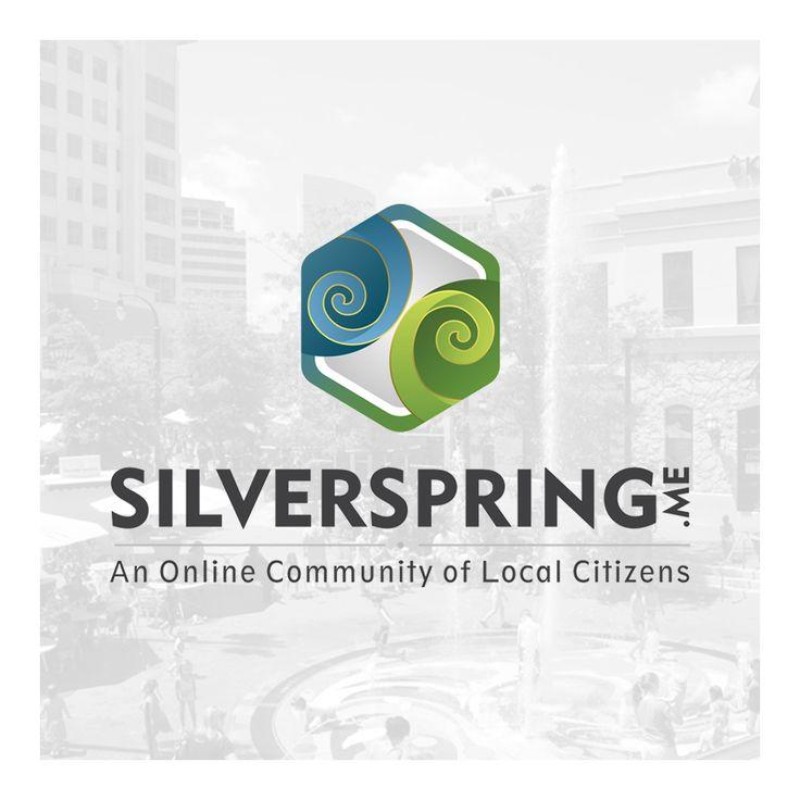 A Logo for SilverSpring Community Website. #logo #identity #graphic #graphicdesign #designgraphic #corporateidentity #visual #logoinspiration #silverspring