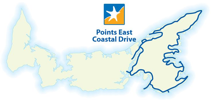 Points East Coastal Drive   Tourism Prince Edward Island~~~~~ PIN # 2