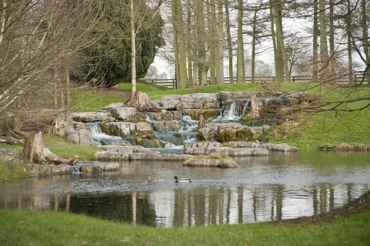 St. Fiachra's Garden on a crisp winters day, it captures the Irish landscape beautifully