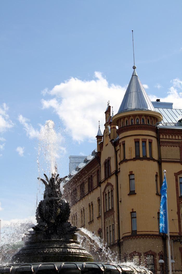 Ulakkokerrokseen rakennettu harvinainen torniasunto aivan Tampereen keskustassa!  #arvotalot #pirkanmaa