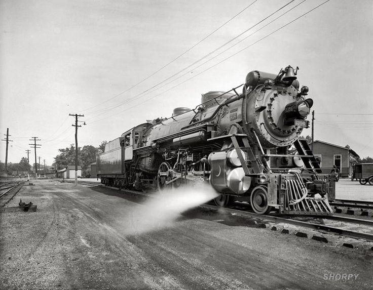 Southern R.R. Co. Crescent Locomotive 1396 near Washington, D.C., 1926.