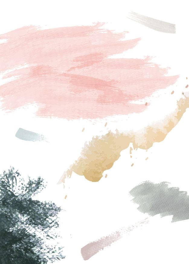 Download Watercolor On A Paper Background For Free In 2020