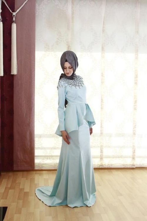 Classy and Glamorous Hijab Dresses