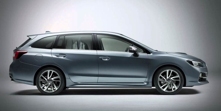2019 Subaru Levorg Side View