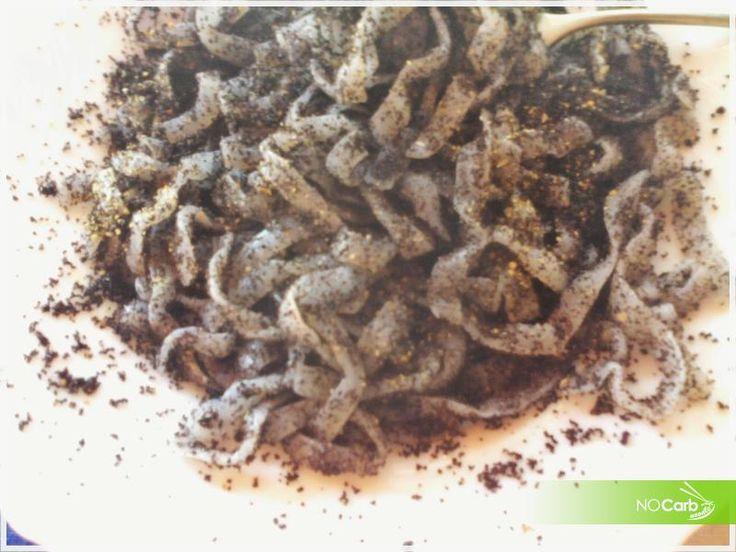 NoCarb Noodle - szénhidrátmentes receptek - Mákos tészta NoCarb tésztából