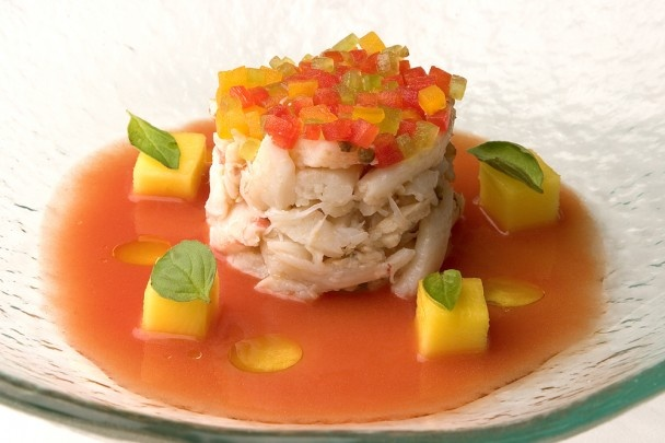 crab salad maine gazpacho crabs pepper salads the dutchess upper east ...