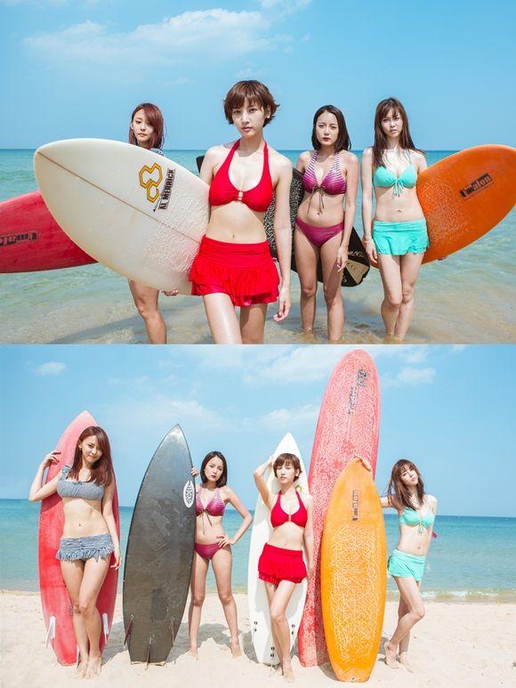 "More bikini bodies on BTS clip for T-ara's ""Bikini"" MV ~ Latest K-pop News - K-pop News | Daily K Pop News"