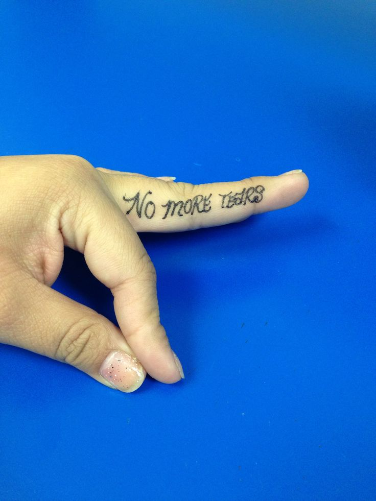 No more tears no more tears tattoo quotes tattoos