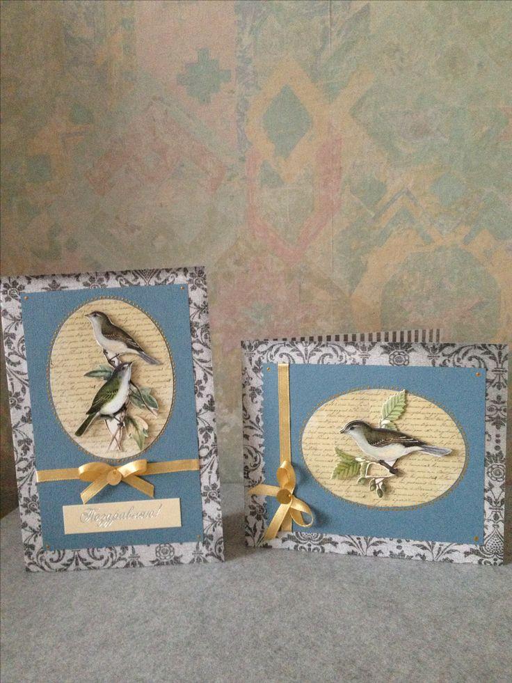 Поздравительные открытки Птицы