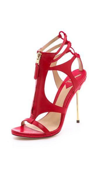 Merritta zip sandals