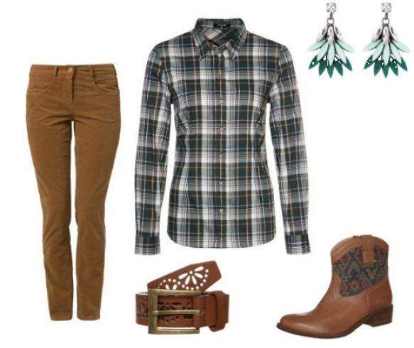 Atelier Gardeur ZURI Bukser, Carvela SENORITA Cowboy stovler, More & More Skjortebluser
