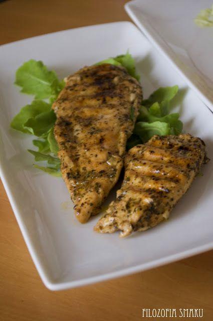 Kurczak marynowany w sosie vinaigrette | Filozofia Smaku
