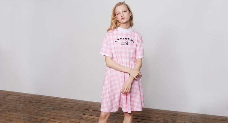 Lazy Oaf Lunch Time Dress - Everything - Categories - Womens