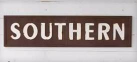 New arrival! Vintage Metal SOUTHERN Sign by Park Hill Collection #southern #southernhome #southerndecor