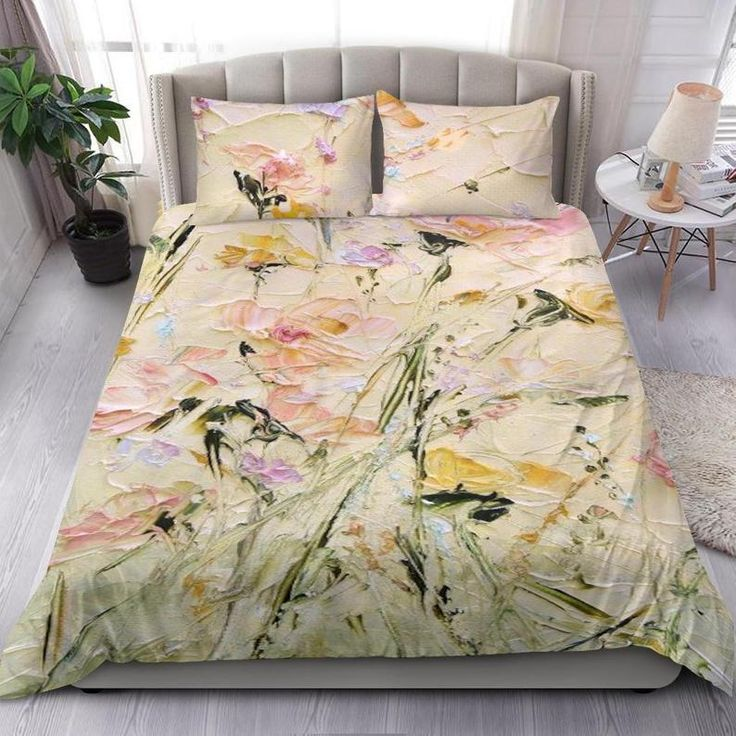 Bed cover set, Bedroom duvet cover, Boho duvet cover