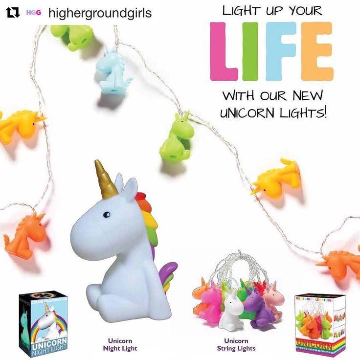 "Golteez (@golteez) on Instagram: ""#Repost @highergroundgirls (@get_repost) ・・・ Shop these new multicoloured LED Unicorn Night Lights…"""