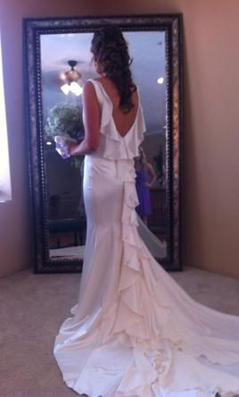 Priscilla of Boston: buy this dress for a fraction of the salon price on PreOwnedWeddingDresses.com