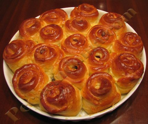 Дрожжевой пирог с шоколадно-ореховой пастой нутелла | Pechemdoma.com