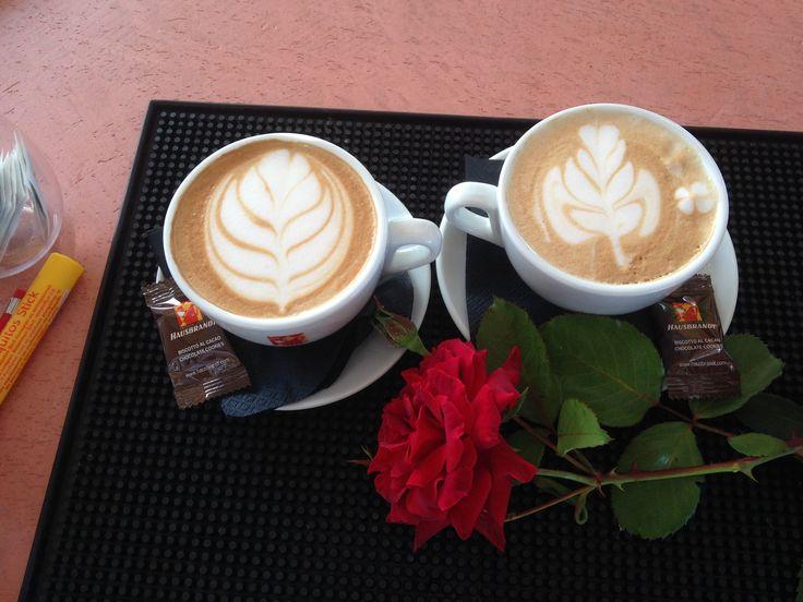 Love cappuccino ..