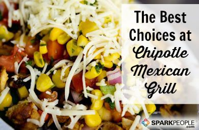 Food on the Run: Chipotle Mexican Grill via @SparkPeople
