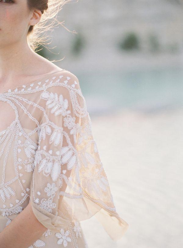Dramatic Desert Wedding Inspiration from OnceWed.com