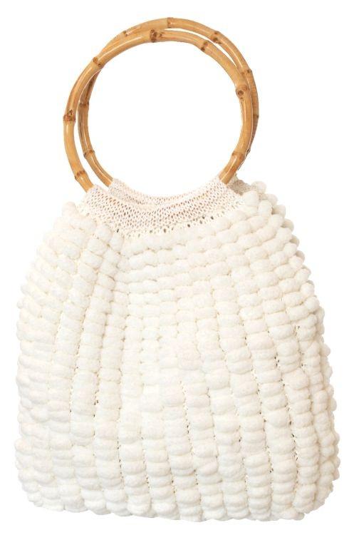 Stickat väska! #knittingroom #garn  #inspiration