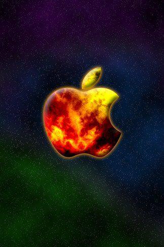 Apple Galaxy iPhone 4S wallpaper