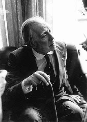 Borges todo el año: Jorge Luis Borges: El alquimista - Foto: Borges por Jorge Aravena Llanca