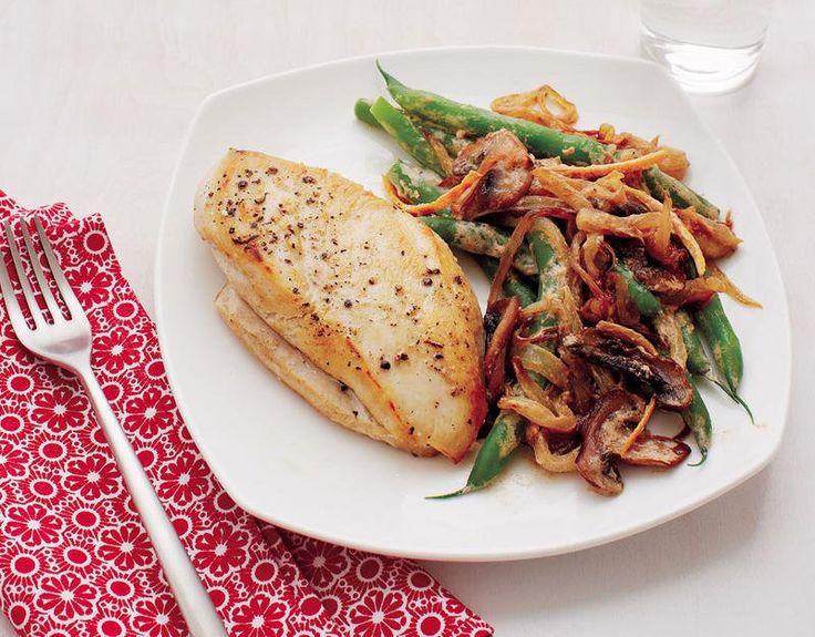 Pechugas de pollo con vegetales salteados   Adelgazar – Bajar de Peso