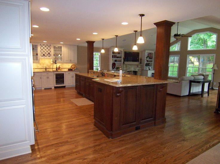Best 25 load bearing wall ideas on pinterest half wall for Half island kitchen