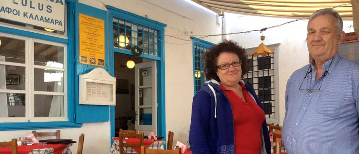 Taverna Lulu, Hydra Island Greece, Greek tavernas in Hydra.