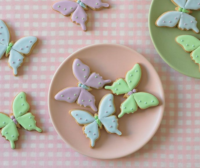 Butterfly cookies: Birthday, Ideas, Sweet, Butterfly Cookies, Butterflies, Food, Cupcakes Cookies, Cupcakes Decorating, Biscuits