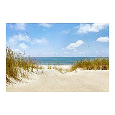 Vlies Fototapete Strand An Der Nordsee