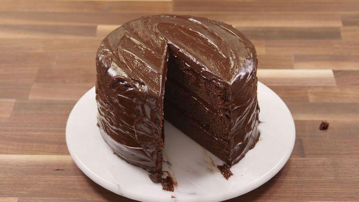 Matilda-Inspired Chocolate Fudge Cake