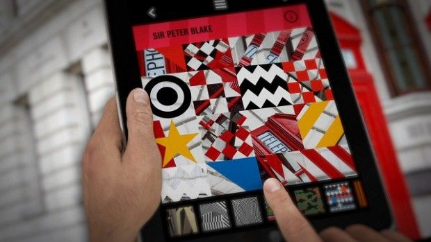 World first: New photo app allows users to 'remix' work by Godfather of pop art