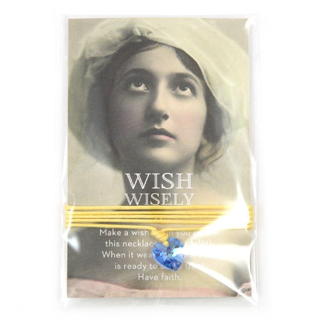 Wish wisely baby boy blue from Applepiepieces