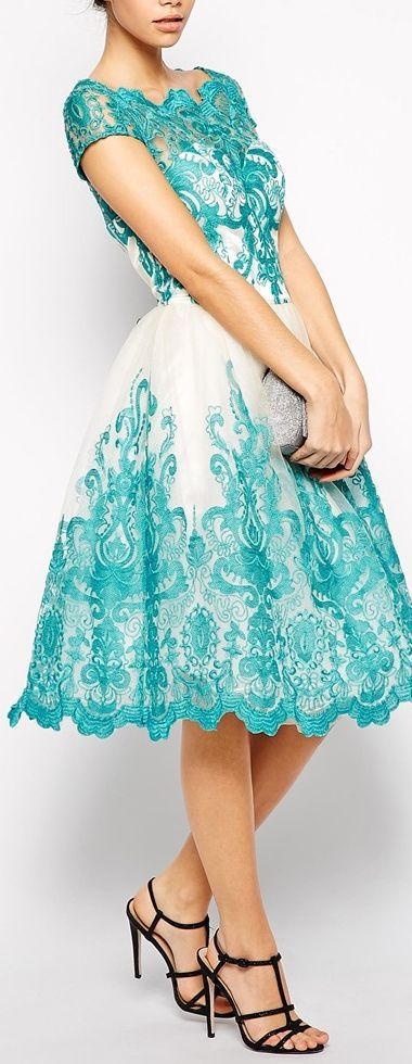 embroidered dress: