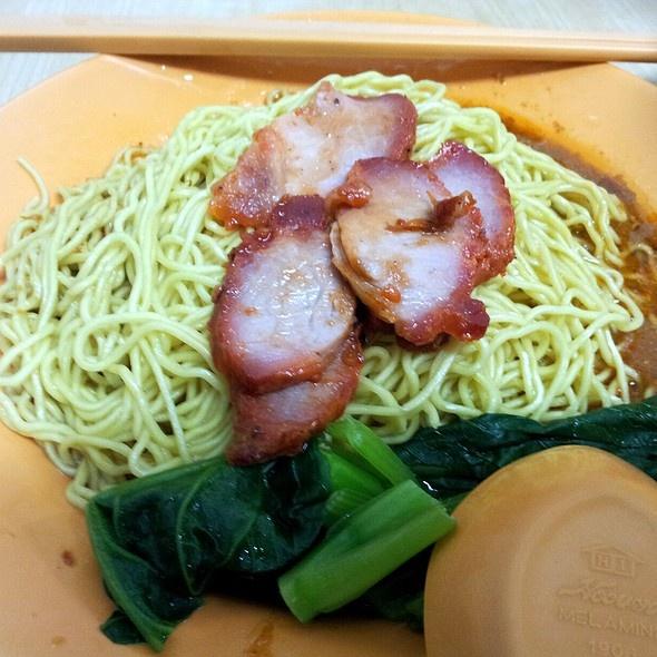Wanton noodle @ Hong Mao Mian Jia @ 182, Joo Chiat Road