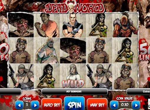 Maszyna hazardu Deadworld prawdziwe pieniądze z realizacji wypłaty. Zombie tematem jest bardzo popularne w dzisiejszych czasach, więc pojawienie Deadworld automatów do gier nie można nazwać niespodzianką. Rozwijała się ona firmę o nazwie 1x2, które jeszcze nie zdobyły szeroką popularność, ale wydała kilka świetnych automatów do gier o szybkim wycofaniu pieniędzy. M