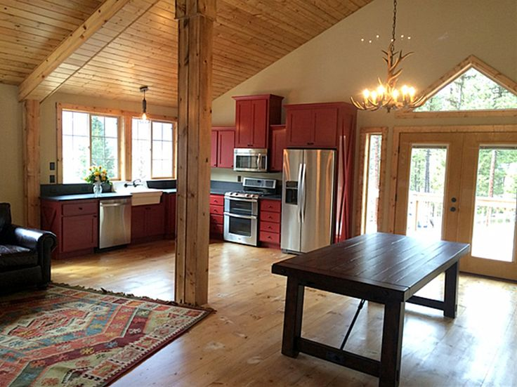 17 best images about homes rooms and everything in them Barn plans with living area